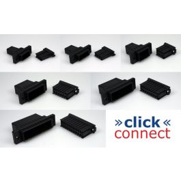»click« connect multipin connectors - 6pin - AWG24 to AWG20