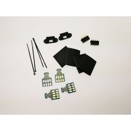 Wing connectors 8pin, 2 pairs with PCBs an fastening set