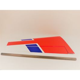 "MXS 104"" Red/Blue, Wing set"
