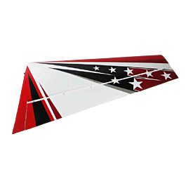 "Extra 300 104"" V2, Right Wing, Red/White/Black"