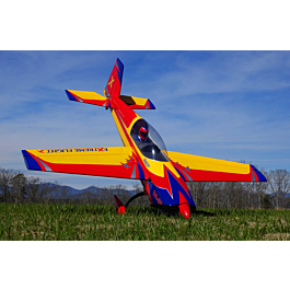 "Extra 300 104"" V2, Yellow/Red/Blue ARF kit"