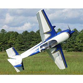 """Extra 300 91"""" V2, Blue/White ARF kit"""