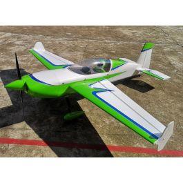 """Extra 300 91"""" V2, Green/White ARF kit"""
