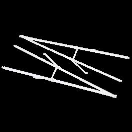 1700mm PA-18 Super Cub - Supporting bar set