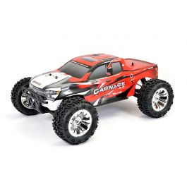FTX Carnage 2.0 1/10 Brushed Truck 4WD RTR - Rood