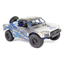 FTX Zorro 1/10 Trophy Truck EP Brushed 4WD RTR - Bleu