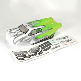 FTX Tracer Truggy Body & decals - Groen