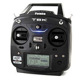 Futaba T6K V3 S zender - MODE 2 (met R3008SB ontvanger)
