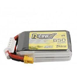 Tattu 650mAh 4S 14.8V 95C LiPo Batterij