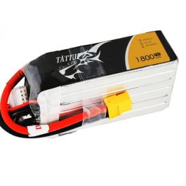 6S 1800mAh 75C tattu Lipo Battery