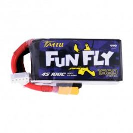 Tattu 1550mAh 4S 14.8V 100C Lipo Battery