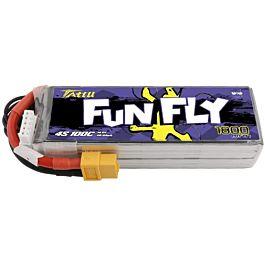 Tattu Funfly 1800mAh 4S 14.8V 100C Lipo Battery