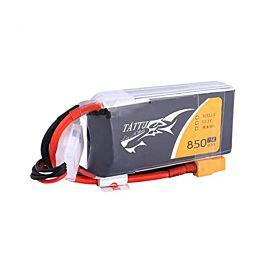 Tattu 850mAh 3S 11.1V 75C Batterie LiPo, XT30