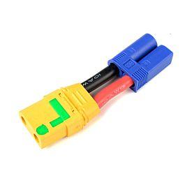 Adaptateur de câble EC5 M > XT-90 Anti-spark Fem.,  (1pc)