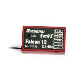 Falcon 12 Hott Receiver 6ch + gyro