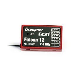 Graupner Falcon 12 Hott 6ch + gyro Receiver