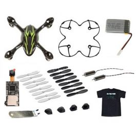 Hubsan X4CAM Mini Quad Value Pack Black/Green T-Shirt MEDIUM