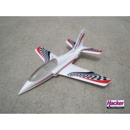 Viperjet kit white (1040mm / 70mm EDF / 4S lipo)