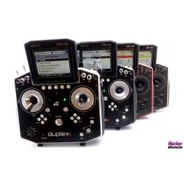 Jeti DS-16 II Handheld Transmitter Carbon Line Rood (Multimode)