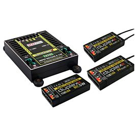 Jeti Duplex 2.4EX Central Box 310 + 2 RSat2 + RC-Switch