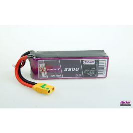 Hacker TopFuel Power-X 3800mAh 5S 18,5V 35C Batterie LiPo (MTAG)