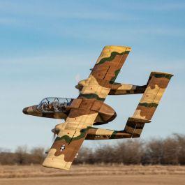 Hangar 9  OV-10 Bronco 2.75m 30cc ARF (combo with landing gear set)