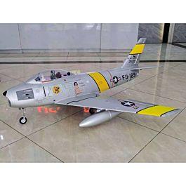 HSD F-86, Yellow Ribbon scheme 120mm EDF / 12S PNP Jet