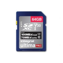 Integral SDXC card V30 64GB