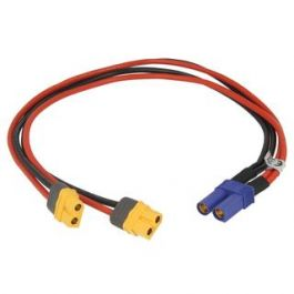 ISDT Powercable EC5 Female to 2 pair XT-60 female (40cm)