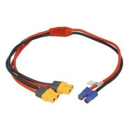 ISDT Powercable EC3 Female to 2 pair XT60 female (40cm)