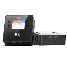 ISDT K2 200/500W 6S AC/DC Dual Channel Smart Charger