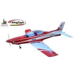 JMB PC-21 Blanc/Rouge scheme 2880mm ARF kit