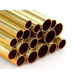 Brass tube 10mm x 1000mm