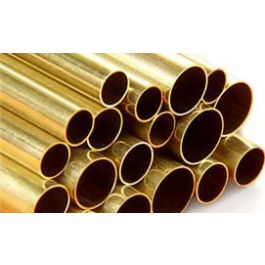 Brass tube 2mm x 1000mm