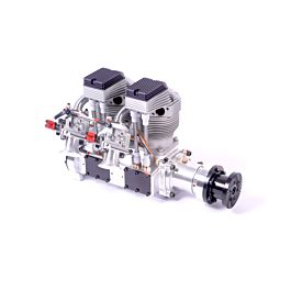 IL100-2 V4 2 cylinder inline engine - short version