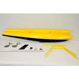 "Float Kit 120"" Turbo Bushmaster - Yellow/Black"