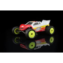Losi Mini-T 2.0 Brushless RTR: 1/18th 2wd Truck RED