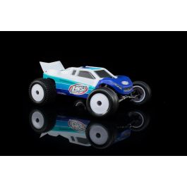 Losi Mini-T 2.0 Brushless RTR: 1/18th 2wd Truck BLUE