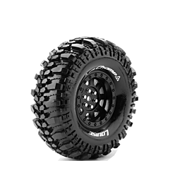 Louise RC - CR-CHAMP - 1-10 Crawler Tire Set - Mounted - 12mm hex