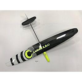 Mini Dart PRO F3K carbon light 1m DLG - Yellow