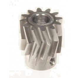 Pinion for herringbone gear 12teeth, M1, dia.6mm