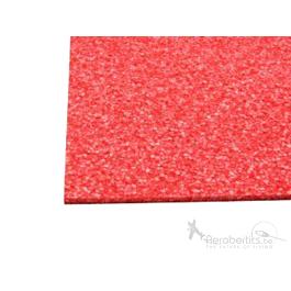EPP Sheet 595x800x9mm - Red
