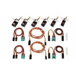 Multiplex servo and cable set for Lentus