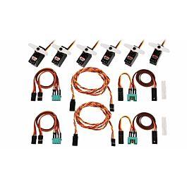 Multiplex - Servo en kabelset voor Lentus