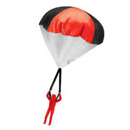 Parachutist Alfred