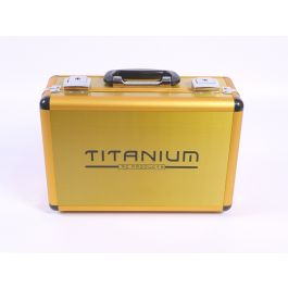 Titanium Small Transmitter case for 1 radio