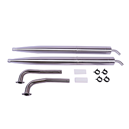 """MTW Tuned Pipe set for EF 104"""" Extra with DA100 / DLE111 (2x RE2 pip"""