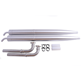 MTW Tuned Pipe Set DLE120/130 (with RE2 pipes and knuckle headers)