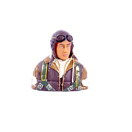1/6 WWII Japanese bust pilot