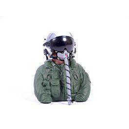 1/6 Bust Jet Pilot with helmet